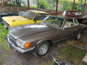 1978 Mercedes Benz 450 SL lhd American spec