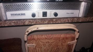 Power Amp Titan Audio TDJ 1000