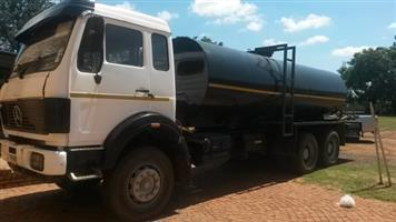 WATER TANKERS FOR HIRE