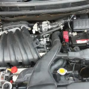 2008 Nissan Tiida sedan 1.6 Visia