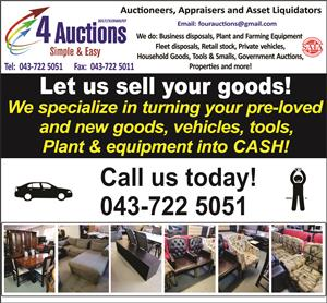 Let us do your auction!