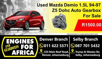 Used Mazda Demio 1.5L Dohc 94-97 Z5 Auto Gearbox For Sale