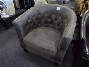Suede Single Chair