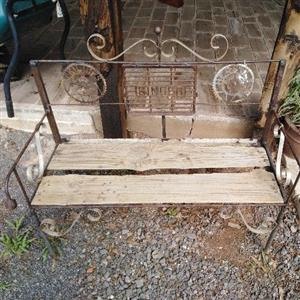 Benches upcycled. Lots to choose from.