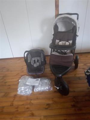 Baba travel system te koop
