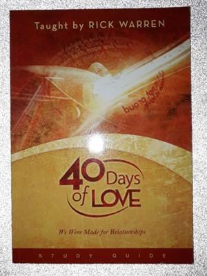 Rick Warren - Study Guide - Bible study.