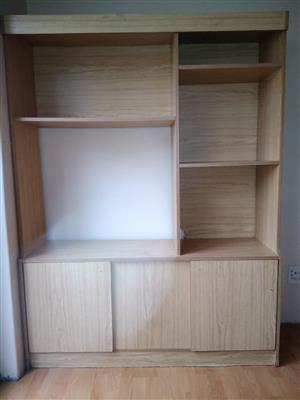 TV stand for sale.