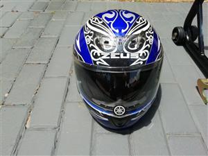 Motorcycle Helmet & Stand