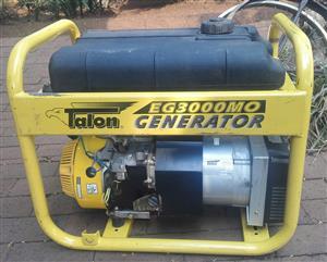 3 KW TALON GENERATOR FOR SALE