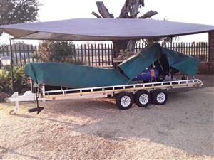 Trailer, for quat bikes or luggage