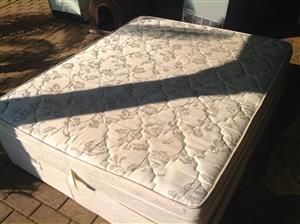 Queen base and mattress