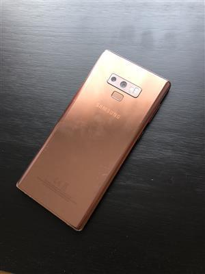 Samsung Galaxy note 9 (used)