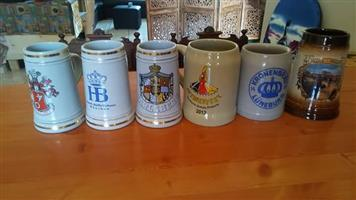 Collection of Beer Steins/Mugs for sale