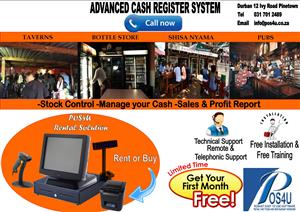 Smart Affordable Touch Cash Register System