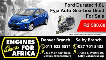Ford Duratec 1.6L Fyja Gearbox For Used For Sale