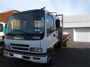 Isuzu FRR Truck - on an onsite auction