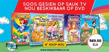 Afrikaans Dvd's now Available