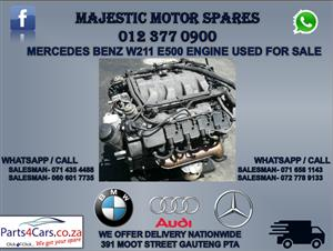 Mercedes Benz W211 E500 engine for sale