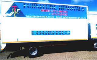 TME FURNITURE REMOVALS IN FOURWAYS CALL 0742589343