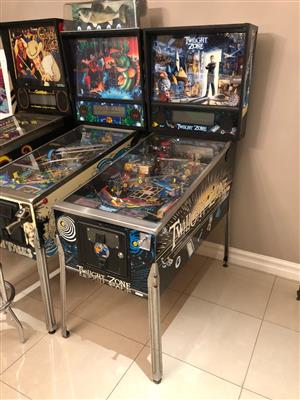 Twilight Zone Pinball Machine by Bally , a Pat Lawlor concept