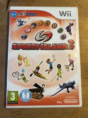 Nintendo Wii Sports Island 3 - includes kayaking, slalom, racquetball and fencing among others