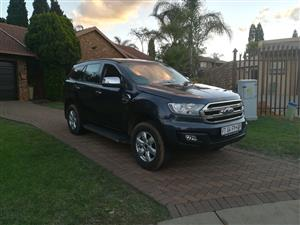 2017 Ford Everest 2.2 4WD XLS