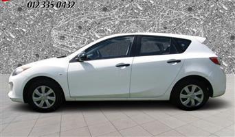 2013 Mazda Mazda3 hatch MAZDA3 1.5 ACTIVE 5DR