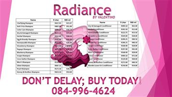 SALON QUALITY SHAMPOO AND CONDITIONER AT FACTORY PRICES!!!