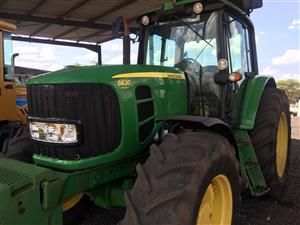 John Deere 6630 4x4 2010 Pre-Owned Tractor