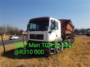 2007 MAN TGA 26 400