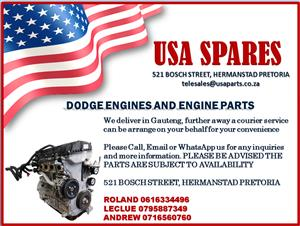 DODGE ENGINES AND ENGINE PARTS