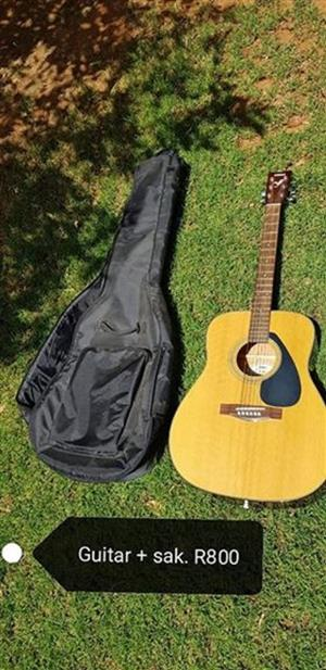 Guitar with bag for sale