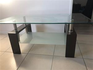 Glass table urgent sale