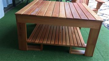 Light wood coffee table for sale