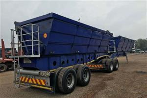 Available for sale is a used interlink siddetipper trailer -2008 for R85000