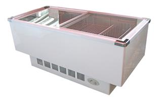 ISLAND FREEZER FOR SALE , ICE CREAM FREEZER FOR SALE , CURVED GLASS FREEZER