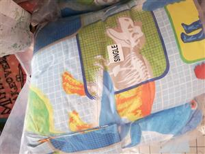 Single dinosaur bedding set