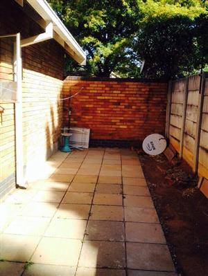 One bedroom cottage available for rent near  Eastgate Mall and Parkmeadows Shopping Centre R4500.