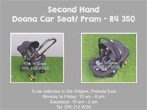 Second Hand Doona Car Seat/ Pram