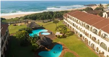 JULY SCHOOL HOLIDAYS-2 BED-AMANZIMTOTI-SELF-CATERING-ON THE BEACH-MAX6-STUNNING GROUND FLOOR-24 HR SECURITY