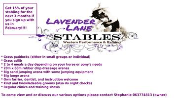 Stabling available in Honeydew