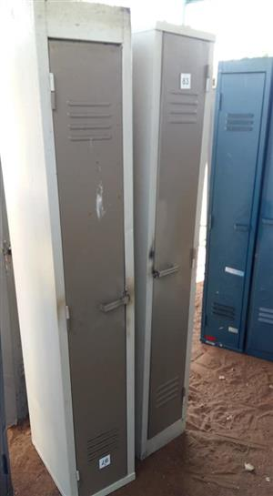 White and grey lockers for sale