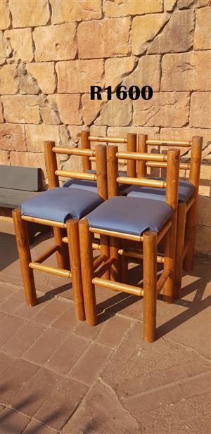 4 Heavy Duty Bar Chairs