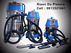 Call Riaan Du Plessis Heavy Duty Industrial Wet & Dry Vacuum Cleaners Free Delivery