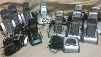 Mobile phones for office or home use.