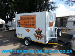 CUSTOM BUILD MOBILE KITCHENS TO YOUR SPECS.