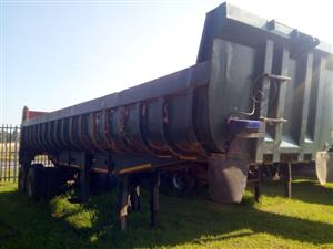 HENDRED DOUBLE AXLE COPLYN 20 CUBE