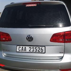 2013 VW Touran 1.9TDI Trendline DSG