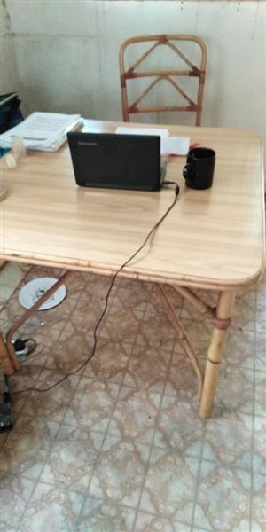 Wooden cane desk for sale