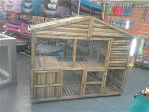mansion rabbit hutch